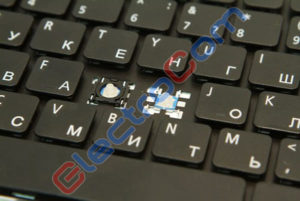 ElectroCom - ремонт ноутбука - замена кнопок клавиатуры