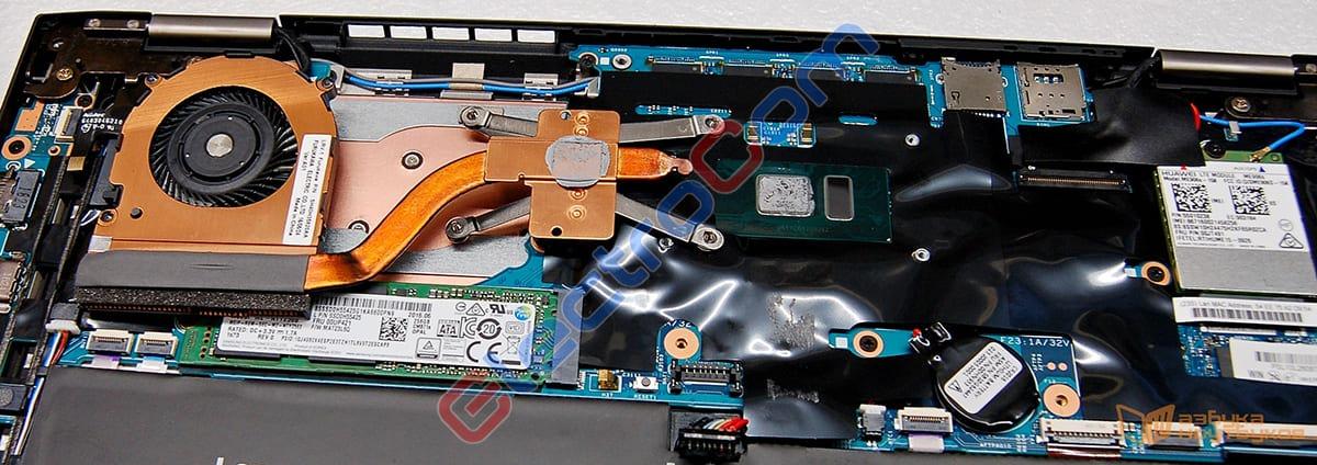 ElectroCom - ремонт ноутбука - ремонт охлаждения